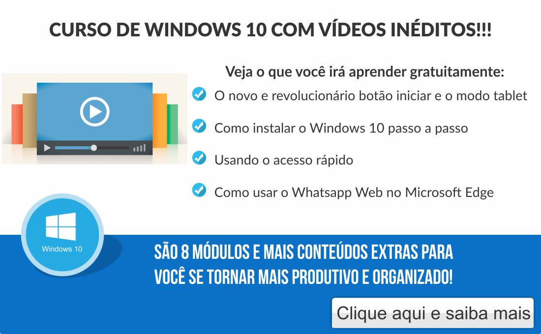 Aprenda Windows 10